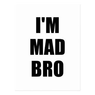 Im Mad Bro Postcard