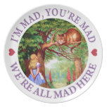 I'm Mad, You're Mad, We're All Mad Here! Dinner Plates