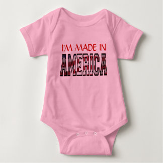 I'm Made In American T-shirt Onsies