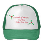 I'm made of Mistletoe and i'm taller than you Trucker Hat
