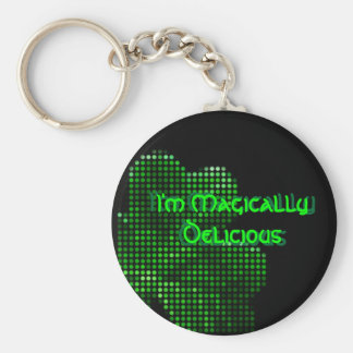 I'm Magically . Basic Round Button Keychain