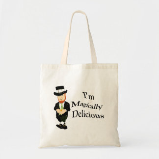 I'm Magically Delicious Canvas Bags