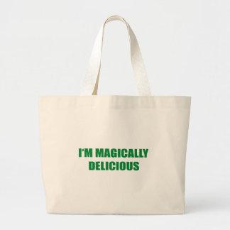 I'M MAGICALLY DELICIOUS CANVAS BAG