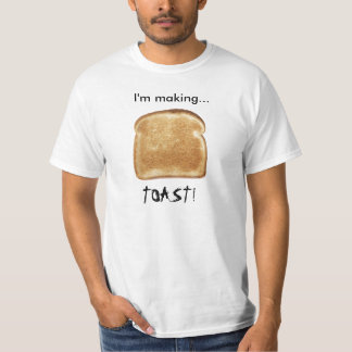 I'm making... TOAST! Invader Zim shirt. T-Shirt