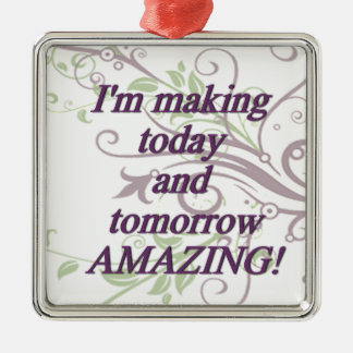 I'm making today and tomorrow AMAZING Metal Ornament