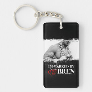 I'm Marked Keychain: Bren Keychain