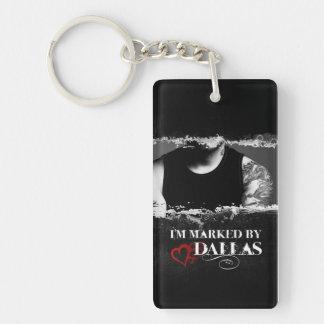 I'm Marked Keychain: Dallas Keychain