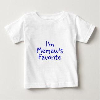 Im Memaws Favorite Blue Baby T-Shirt