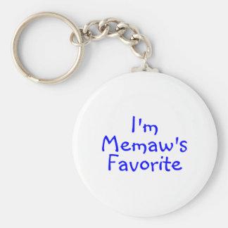 Im Memaws Favorite Blue Key Chains