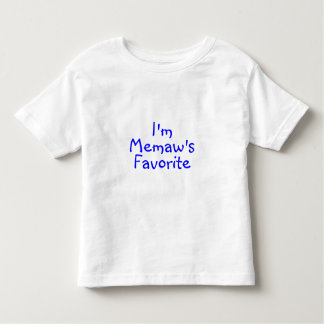 Im Memaws Favorite Blue Toddler T-shirt
