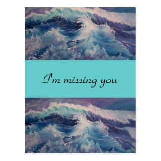 i'm missing you postcard