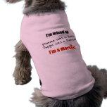 I'm  mixed up - I'm a Morkie! Dog Tee Shirt