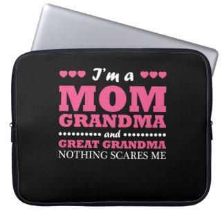 Im Mom Grandma And Great Grandma Shirt Computer Sleeve