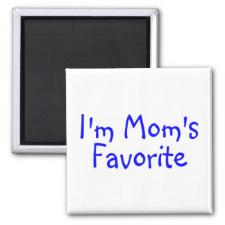 Im Moms Favorite Blue Magnet