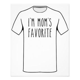 I'm Mom's Favorite Son or Daughter Flyer