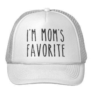 I'm Mom's Favorite Son or Daughter Trucker Hat
