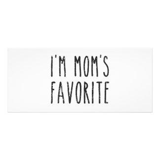 I'm Mom's Favorite Son or Daughter Rack Card