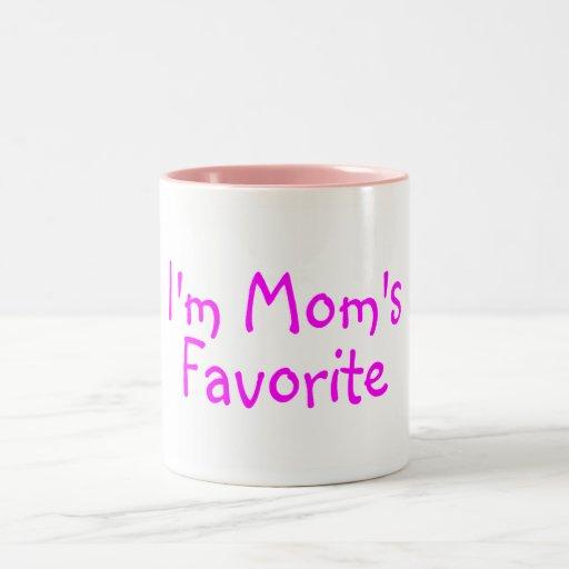 Im Moms Favorite Two-Tone Coffee Mug