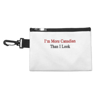 I'm More Canadian Than I Look Accessory Bags