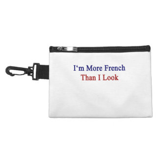 I'm More French Than I Look Accessories Bag