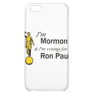 I'm Mormon, and I'm voting for Ron Paul! iPhone 5C Case
