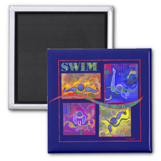 IM Morning 2 Inch Square Magnet