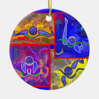IM Morning Ceramic Ornament