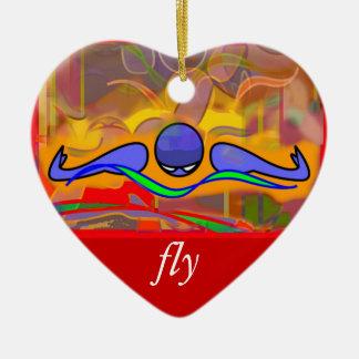 IM Morning Fly/Back Ornament