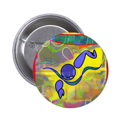 IM Morning Free Pinback Button