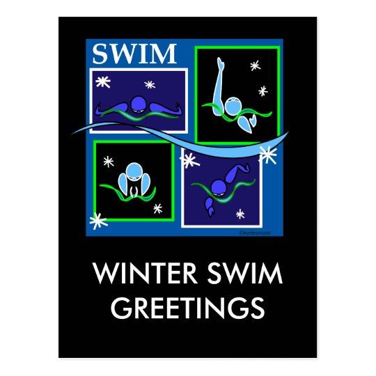 IM Morning Winter Postcard