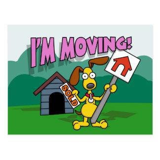 I'm Moving Postcard
