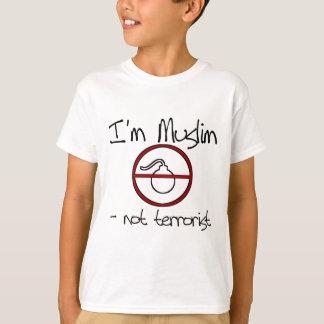 I'm Muslim - not terrorist T-Shirt