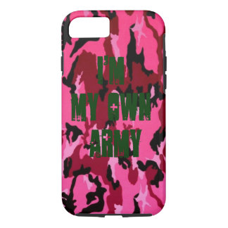 I'm MY Own Army iPhone 8/7 Case