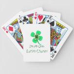 I'm My Own Lucky Charm Four Leaf Clover Card Deck