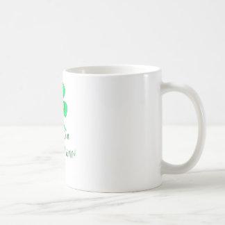 I'm My Own Lucky Charm Four Leaf Clover Classic White Coffee Mug