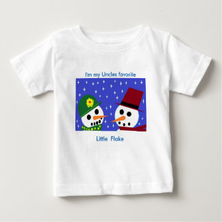 I'M MY UNCLES FAVORITE LITTLE FLAKE BABY TEE