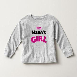 I'm Nana's Girl Toddler T-shirt