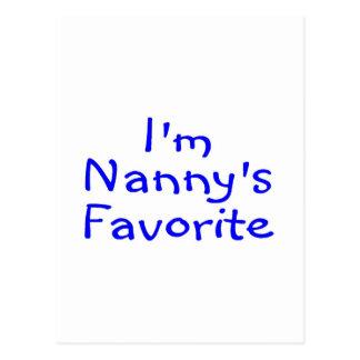 Im Nannys Favorite Blue Postcard