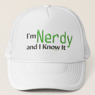 I'm Nerdy and I Know It Hat