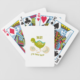 IM NEW HERE BICYCLE PLAYING CARDS