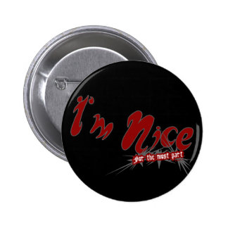 I'm Nice Button