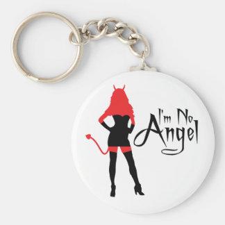 I'm No Angel Keychain