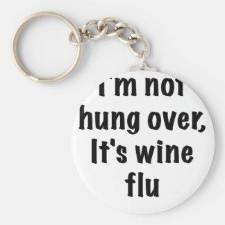 Im no colgado sobre su gripe del vino llavero