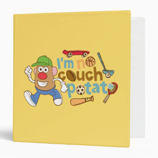 I'm No Couch Potato 3 Ring Binder