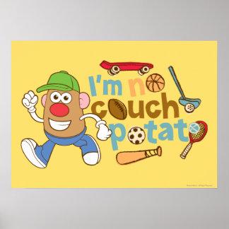 I'm No Couch Potato Print