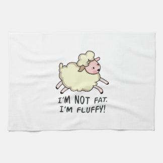 IM NO FAT TOALLAS DE MANO