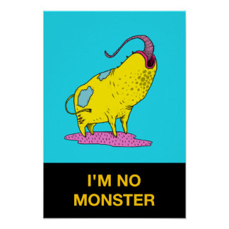 I'm No Monster 32 Poster