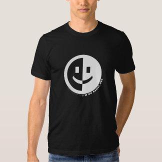 I'm No Racist Round Men's T (black) Tee Shirt