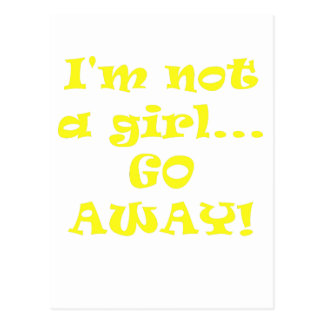 Im no un chica sale postal