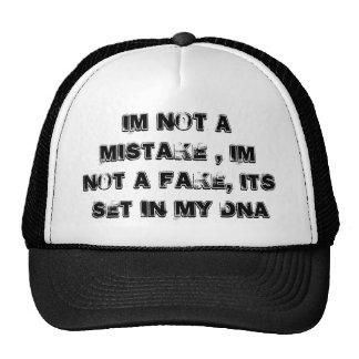 Im no un error, im no una falsificación, su sistem gorra